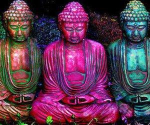 buda, positive vibrations, and budismo image