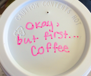 coffee, cup, and girlie image