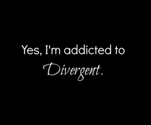 divergent, books, and four image