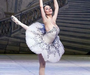 ballet, girl, and love image
