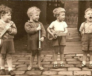 music, boy, and child image