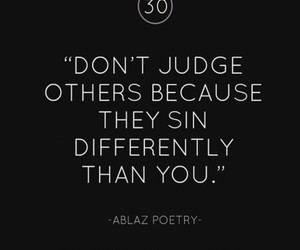 judge, quote, and sin image