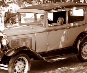 cars, vintage, and model a ford image