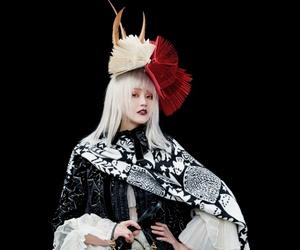 crazy hat, fascinator, and vogue image