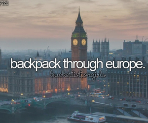 europe, travel, and bucketlist image