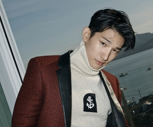 gq, park hyung sub, and smirk image