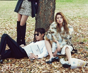 park, vogue girl, and party look image