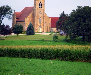 country church image