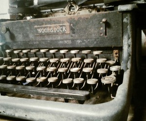 Letter, old, and typewriter image