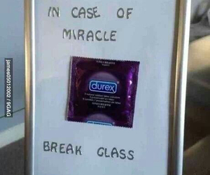 condoms, funny, and glass image