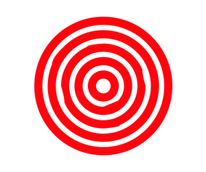 overlay, target, and red image
