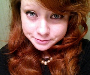 blueeyes, ginger, and ombre image