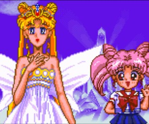 game and sailor moon image