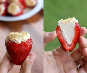 strawberry, yummy, and food image