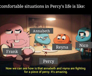 frank, funny, and percy image