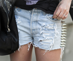 fashion, grunge, and shorts image