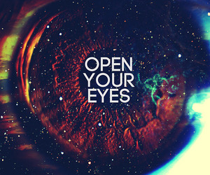 eyes, open, and your image