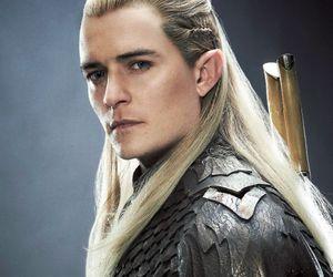 Legolas, the hobbit, and elf image