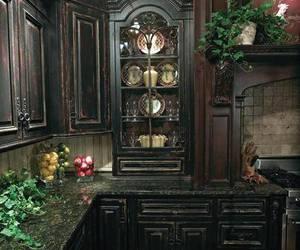gothic kitchen image