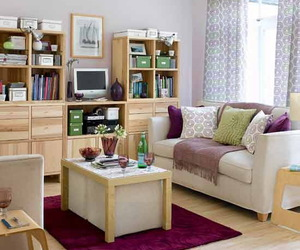 decorating small spaces, storage for small spaces, and small space organization image