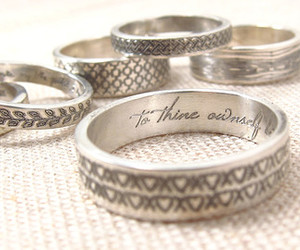 hearts, leaves, and rings image