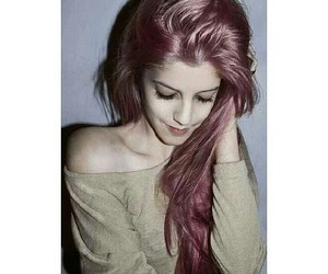 grunge, pale, and redhair image