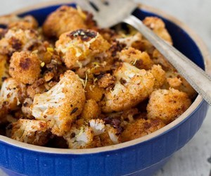 cauliflower, spiced, and no meat image
