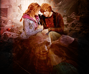 cry, harry potter, and emma watson image