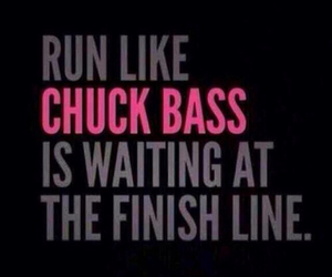 chuck bass, run, and gossip girl image