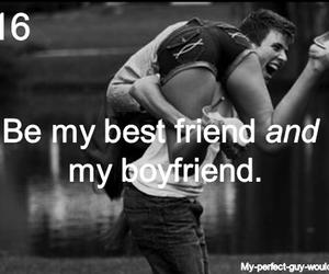 boyfriend, love, and best friend image