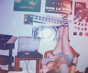 grunge, music, and girl image