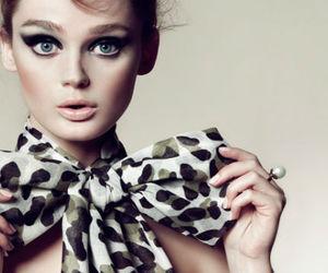 bow, model, and eyes image