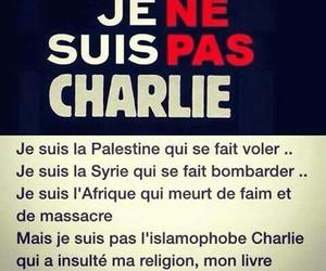 islam, je ne suis pas charlie, and charlie image