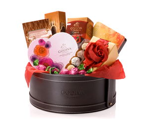 gift, gift basket ideas, and valentines day flower image