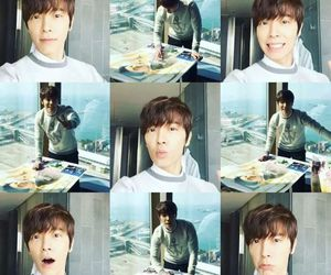 donghae, funny, and guy image