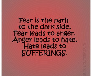 anger, fears, and hate image