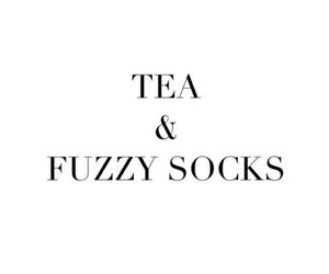 tea, quotes, and socks image