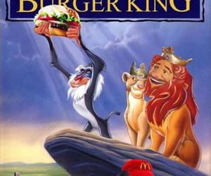 funny, burger king, and disney image