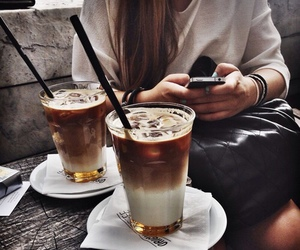 boho, coffee, and goals image