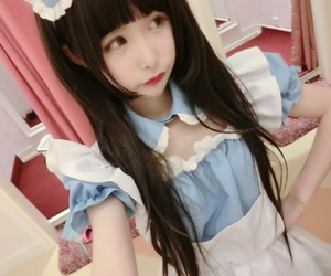 costume play, cute, and girl image