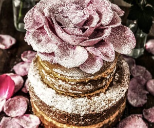 cake, orange, and rosewater image