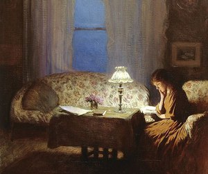 art and reading image