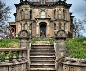 house, abandoned, and architecture image