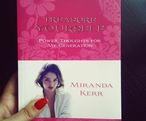 book, miranda kerr, and my idol image