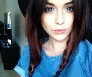 acacia brinley, beautiful, and brunette image