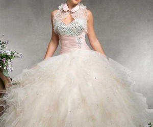 sweetheart, ball gown, and 2015 image