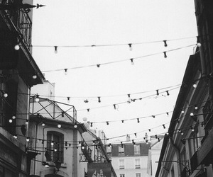 light, street, and vintage image