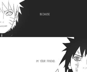 naruto, anime, and friends image