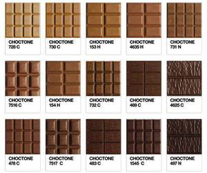 chocolate, food, and pantone image