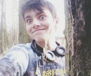forest, smile, and youtuber image